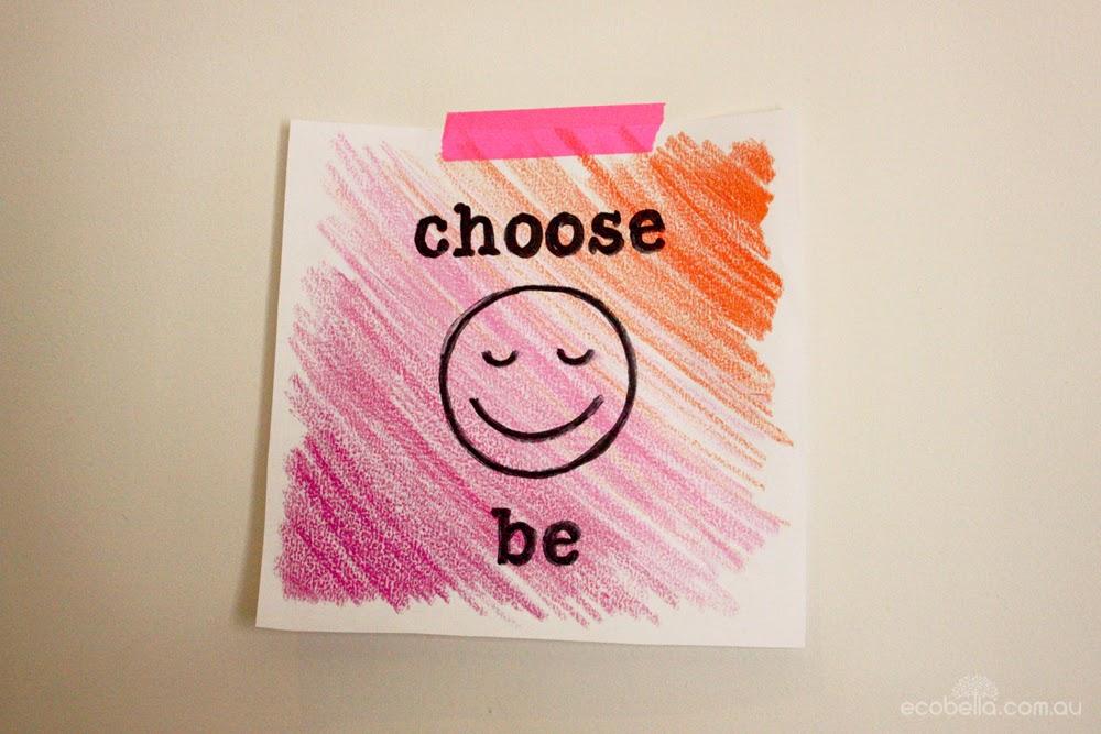 choose happy be happy