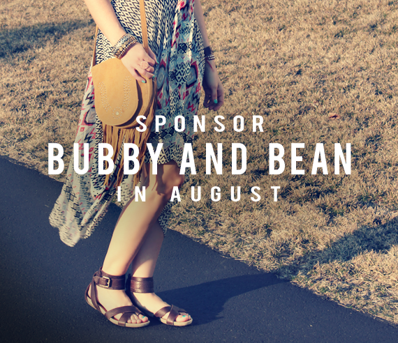Come Be a Part of Bubby & Bean in August!