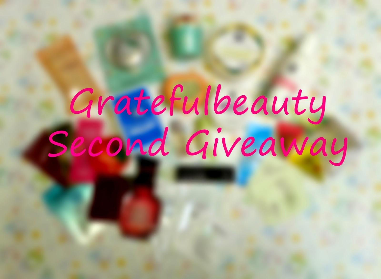 http://gratefulbeauty.blogspot.com/2014/05/gratefulbeauty-second-giveaway-3.html