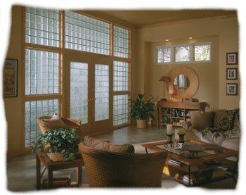 Paredes de vidrio cocinas modernas - Pared de bloques de vidrio ...