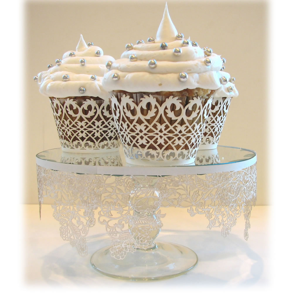 Wedding Cupcakes Images: How Do I Love Thee: : Bliss : White Wedding Cakes