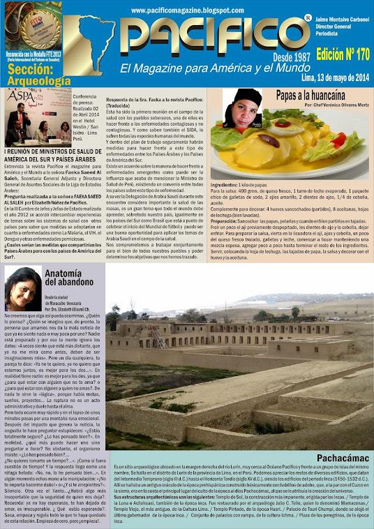 Revista Pacífico Nº 170 Arqueología