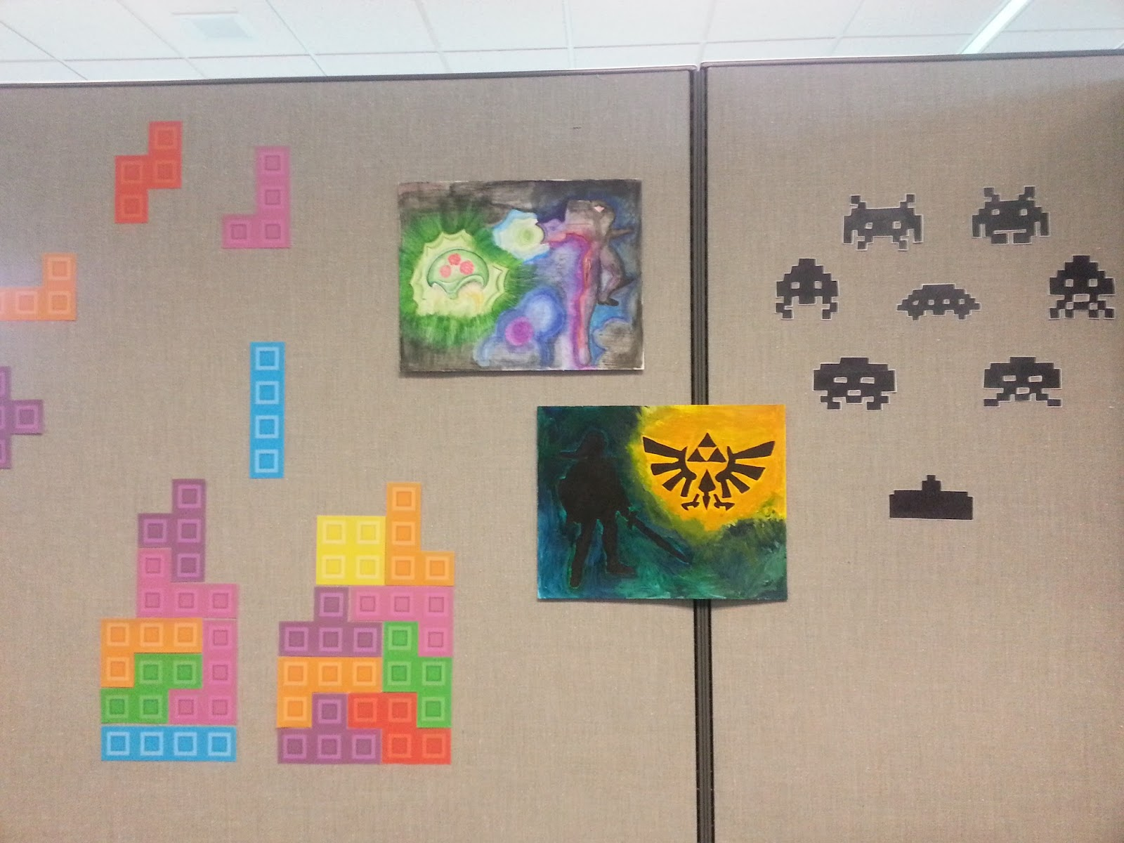Discordia Nerdy Crafts Space Invaders Wall Decals
