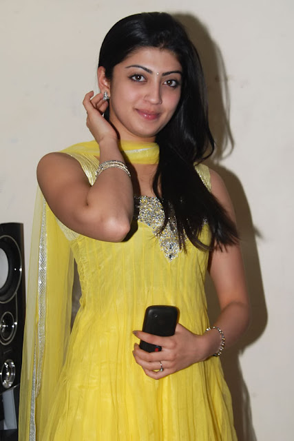 Praneetha Beautiful in yellow Dress Photos