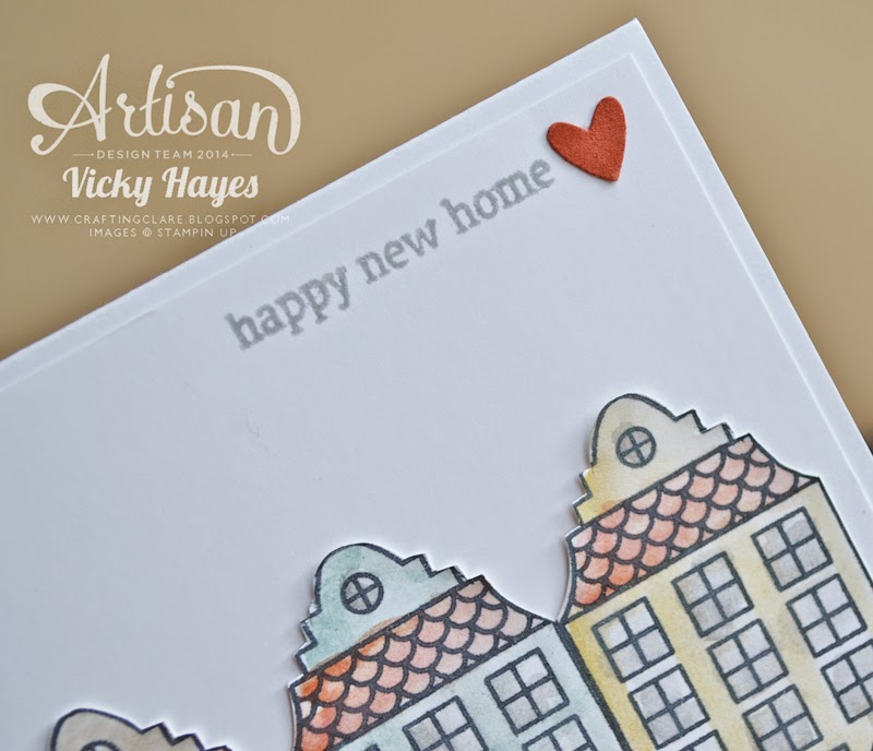 Holiday Home from the new Stampin' Up seasonal catalogue now available to buy online