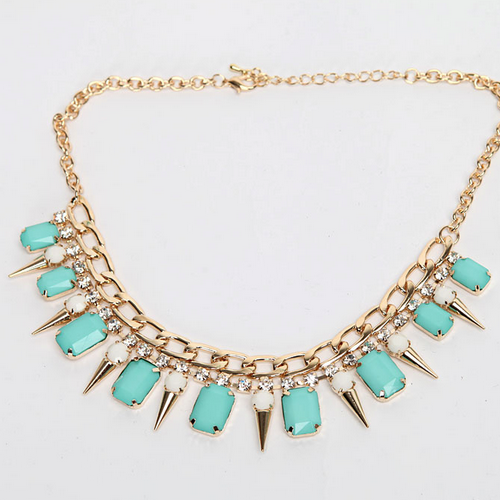 Crystal Spike Wendy Necklace
