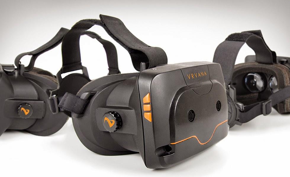 The Vrvana Totem VR Headset