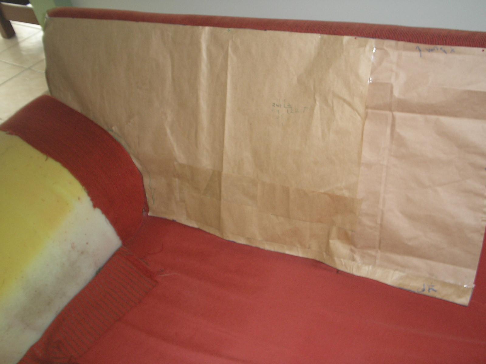 Minha Primeira Costura: Tentando forrar um sofá #893931 1600x1200