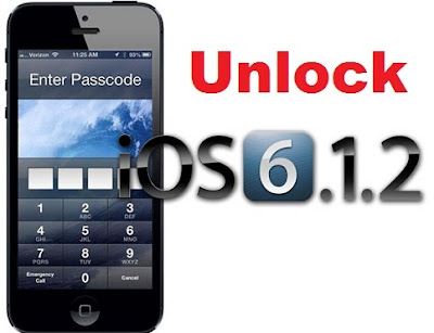 Unlock iPhone 4 iOS 6.1.2
