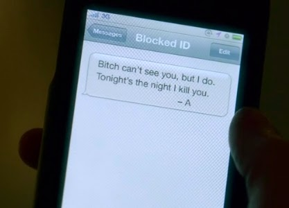 PLL 4x24 Text from A to Alison