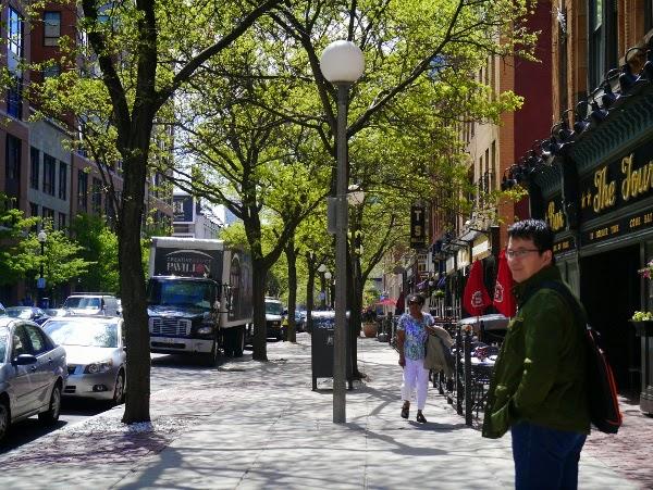 Boston street scene
