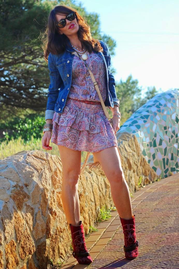 Outfit Primavera 2014 - Vestido mango