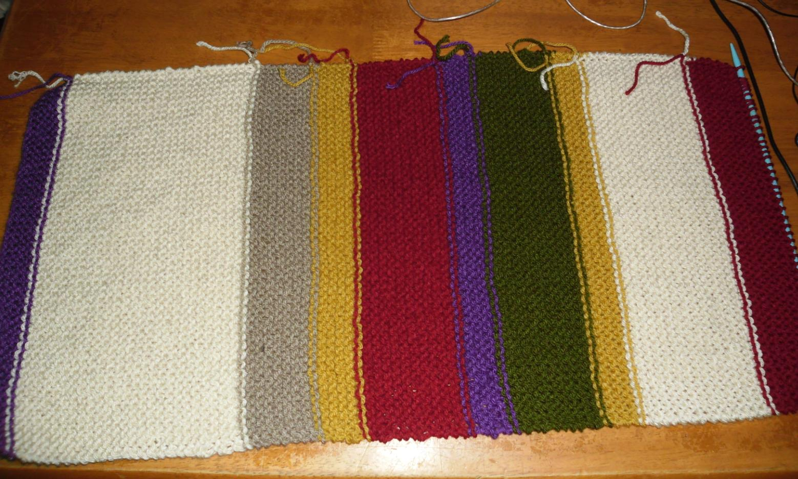 Blooming Lovely: Work In Progress - Doctor Who Scarf (part 1)