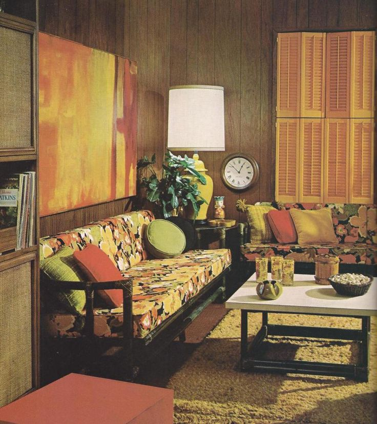 Life styles book a look at the 70s livingroom for 70s living room furniture