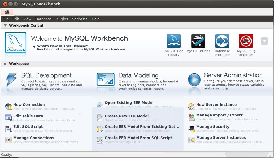 install mysql ubuntu 16.04 workbench