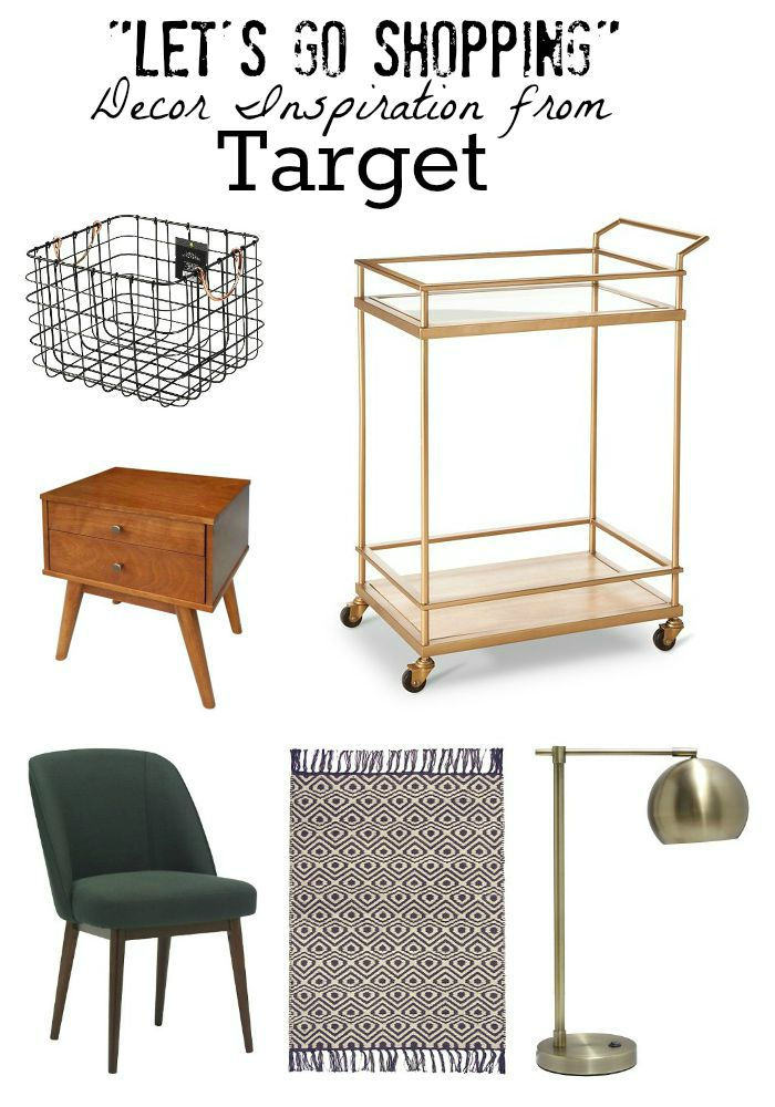 let's go shopping} decor inspiration from target | little house of