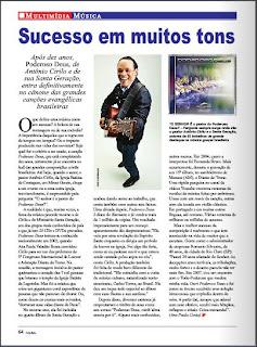 """Matéria Especial – 10 anos da canção """"Poderoso Deus"""" de autoria do Pr. Antônio Cirilo"""