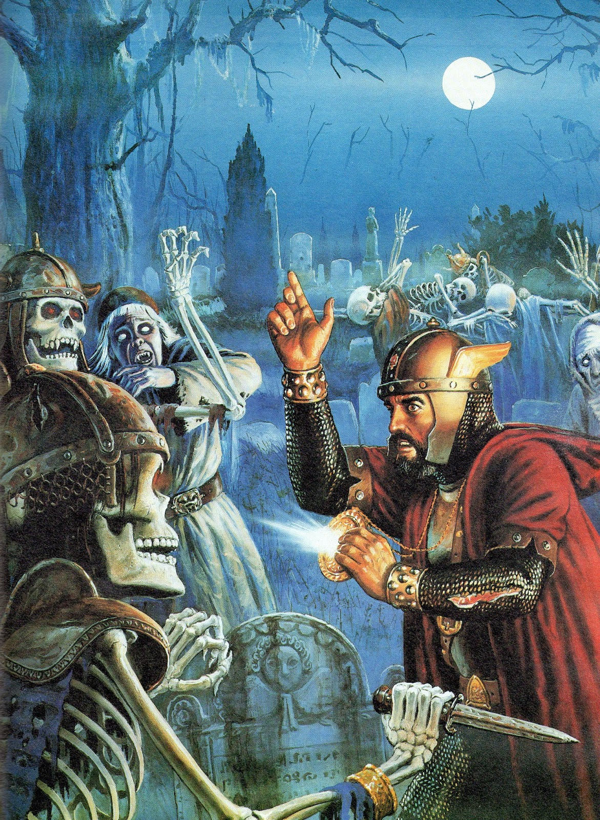 The Art of the Advanced Dungeons & Dragons Fantasy Game ...