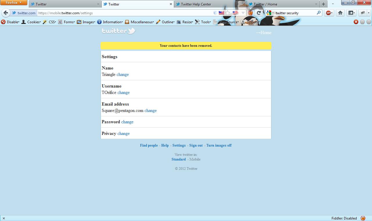 html address: