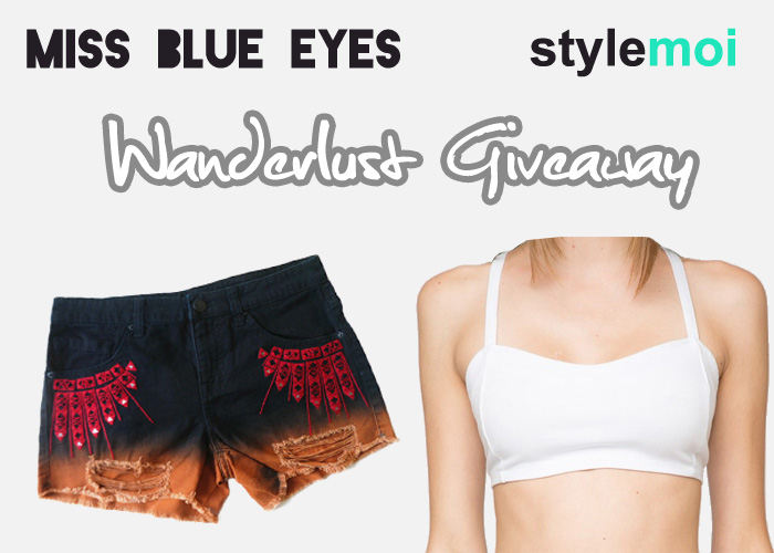 Miss Blue Eyes Wanderlust Giveaway StyleMoi