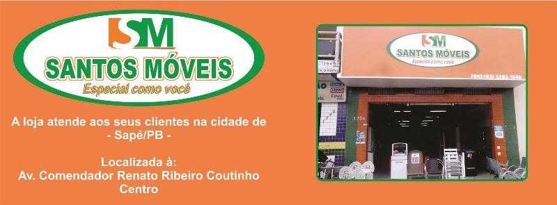 Santos Móveis. Centro de Sapé/PB