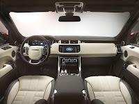 All-new Range Rover Sport SUV dash