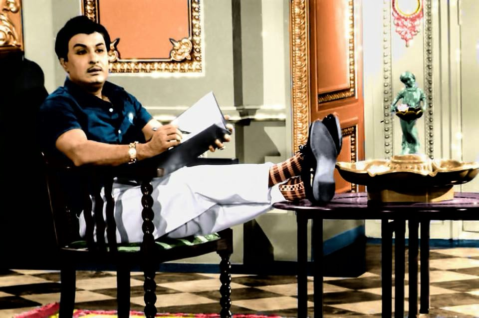 MGR in 'Anbe Vaa' Movie (1966)