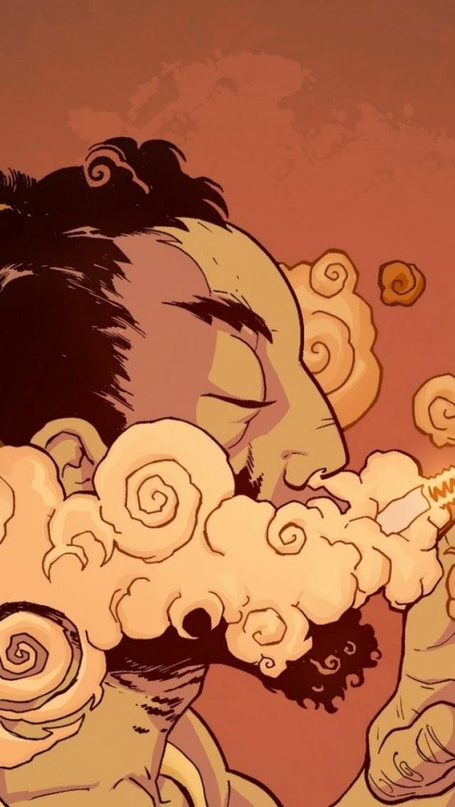 Tải hình ảnh nền hút thuốc khói thuốc cực chất cho iPhone 5