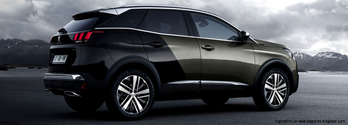 Colour trends ss 2017 - Peugeot 3008 Black Colour High Definitions Wallpapers