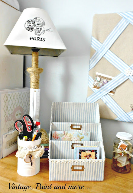 budget friendly diy paper organization made from cereal boxes
