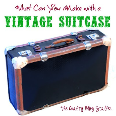 Vintage Suitcase Project Tutorials