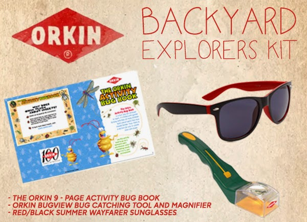 Enter the Orkin Bug Wisdom Backyard Explorers Kit Giveaway. Ends 7/20