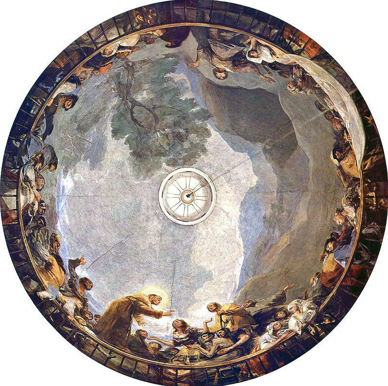 senza dedica: Gli angeli di Goya: gli affreschi di San Antonio de la Florida ...