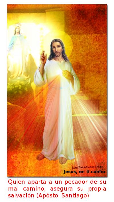 divina msericordia con mensaje