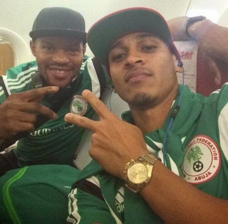 Osaze Odemwingie dedicates his goal against Bosnia to his son