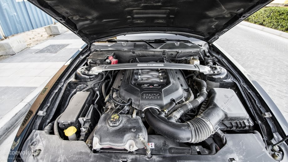 Motor v8 do novo Ford Mustang GT 5.0