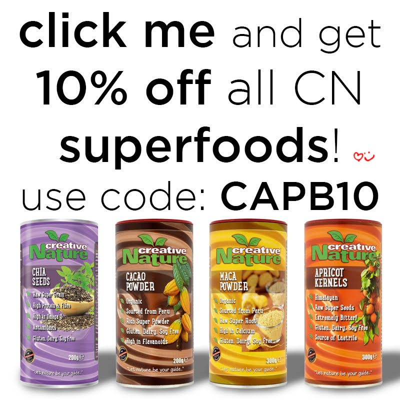 Click the link for my Superfood Discount!