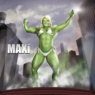 Lisa Cross as MAXi