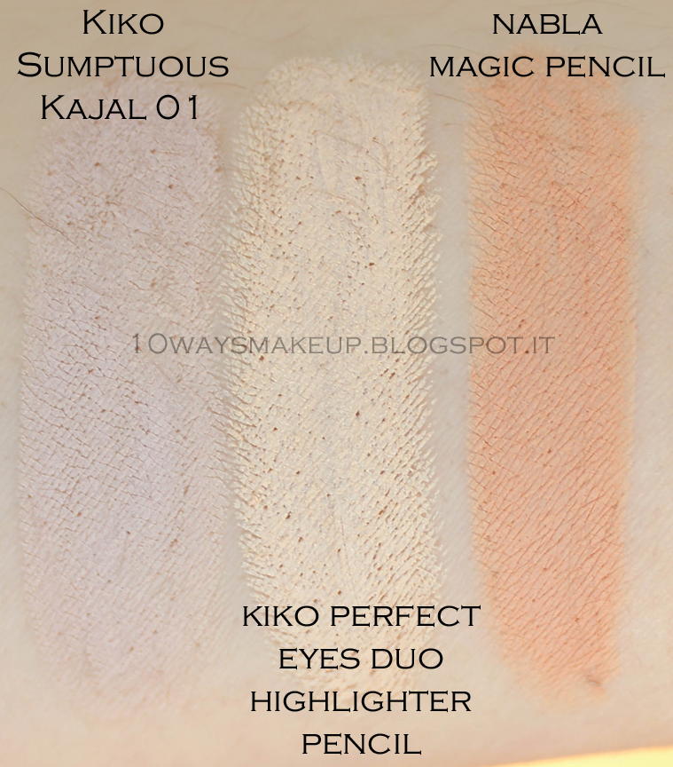 Nabla Magic Pencil swatch review