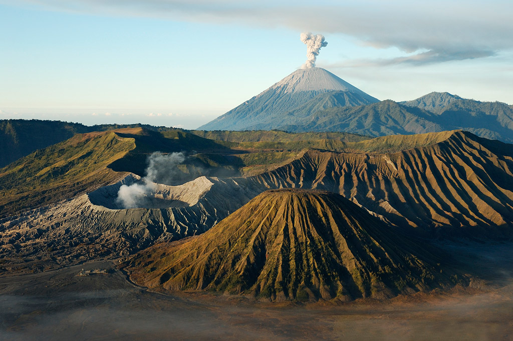 Volcano Mount Bromo, Indonesia