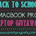 Macbook Pro Laptop Giveaway