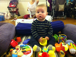 Freddie wonders what Mummy is doing