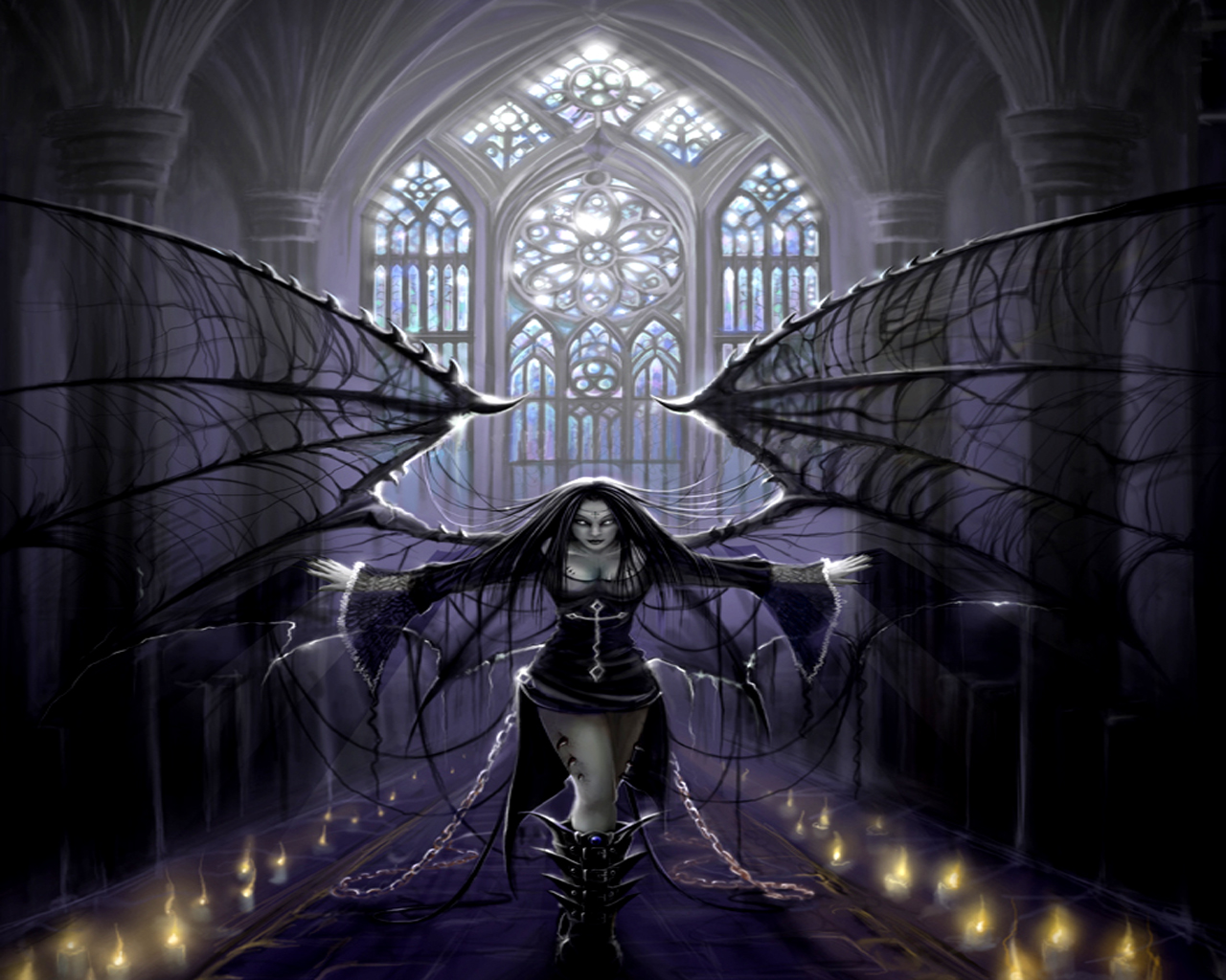 Dark Gothic Pictures of Angels http://goticoymetalsinfonico.blogspot.com/2011/05/angeles.html