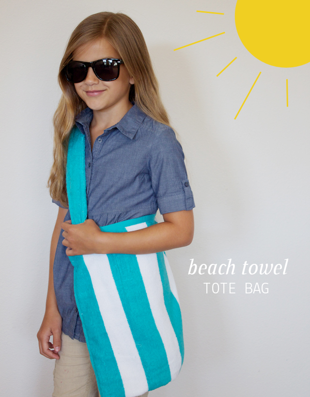 dandee]: Beach Towel Tote Bag.