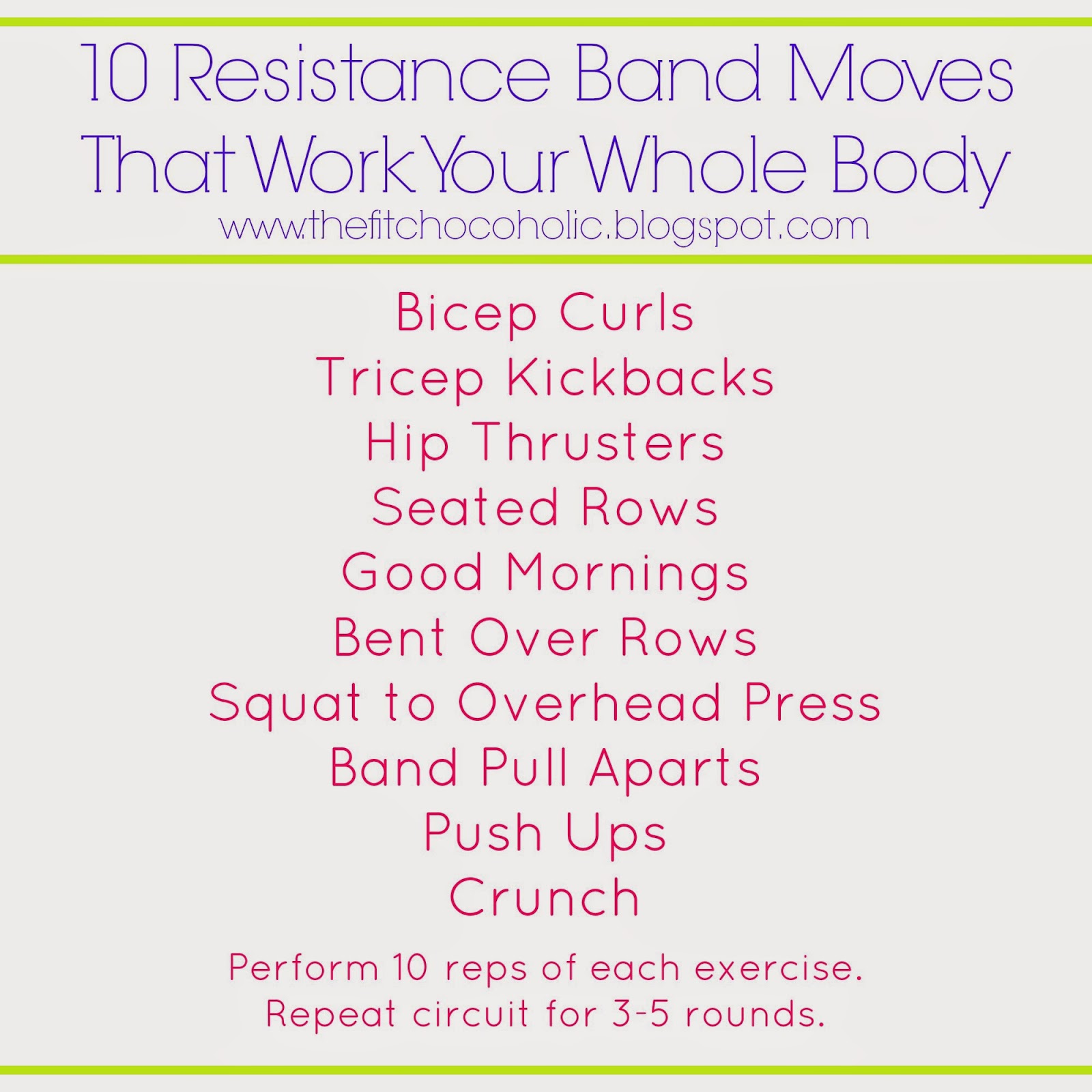 10 Resistance Band Moves That Work Your Whole Body