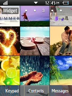 Other Summer Time Samsung Corby 2 Theme 1 Wallpaper