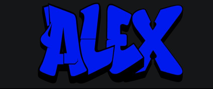 Grafitis de Alex: GRAFITI ALEX
