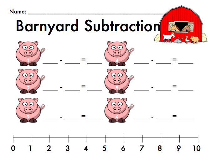 https://www.teacherspayteachers.com/Product/Barnyard-Subtraction-Freebie-234355