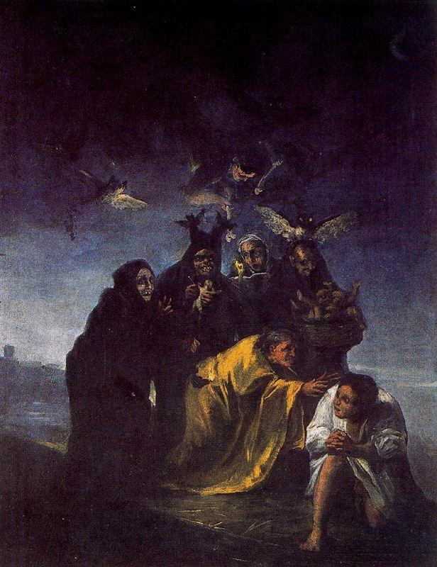 Escena de brujas
