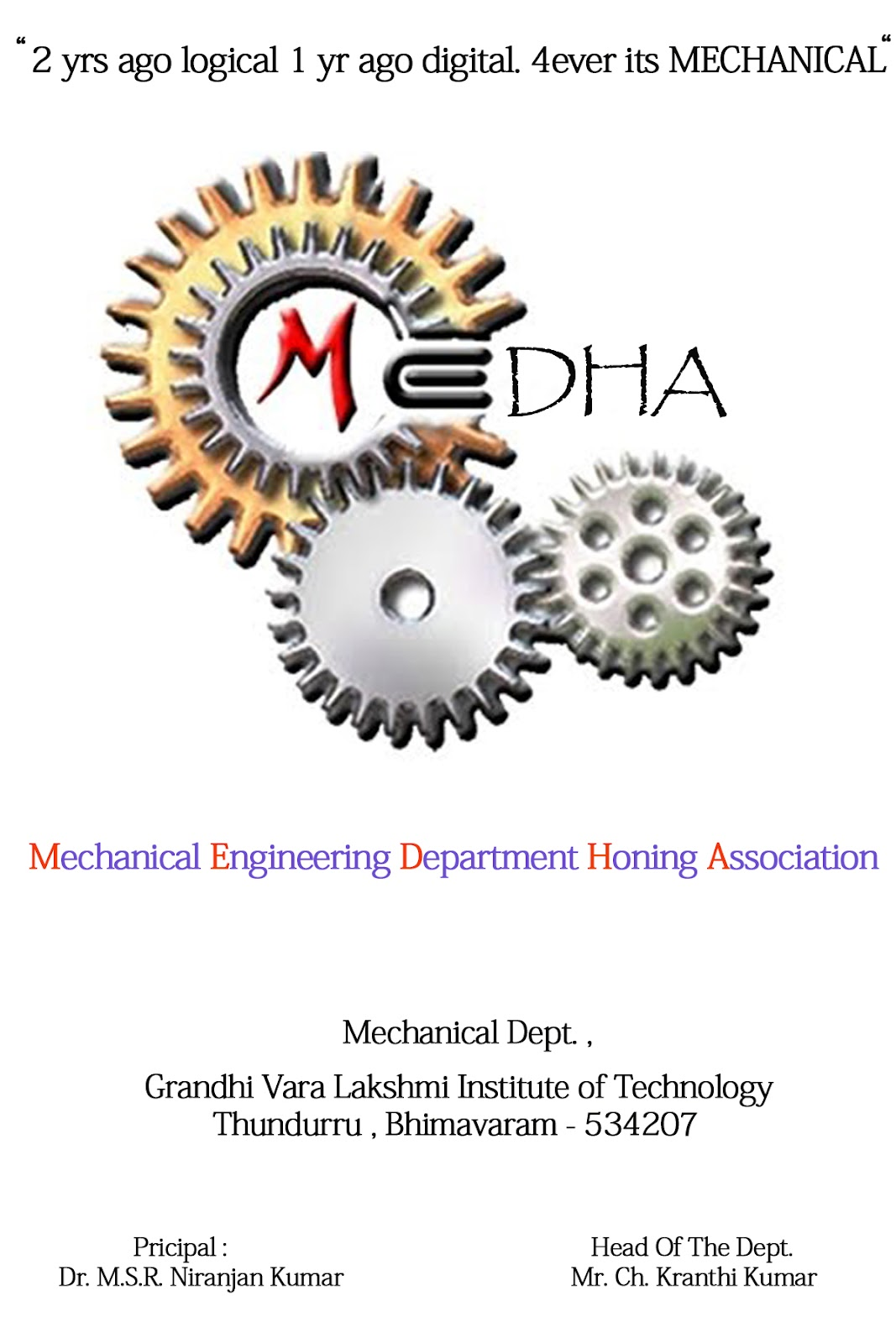 MEDHA [Mechanical Engineering